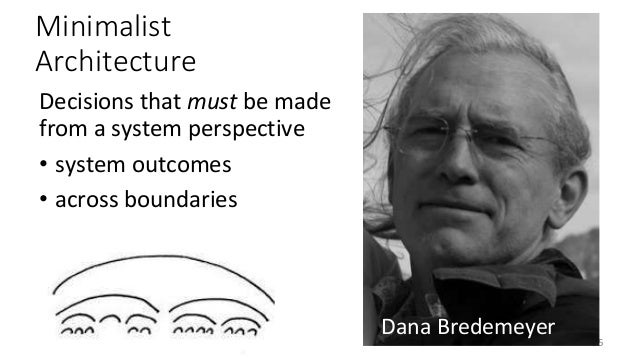 """Architects must have self-repairing egos"" — Dana Bredemeyer @RuthMalan #SATURN17"