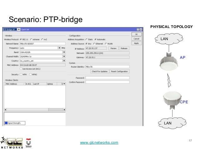 Jumpstart your router with mikrotik quickset