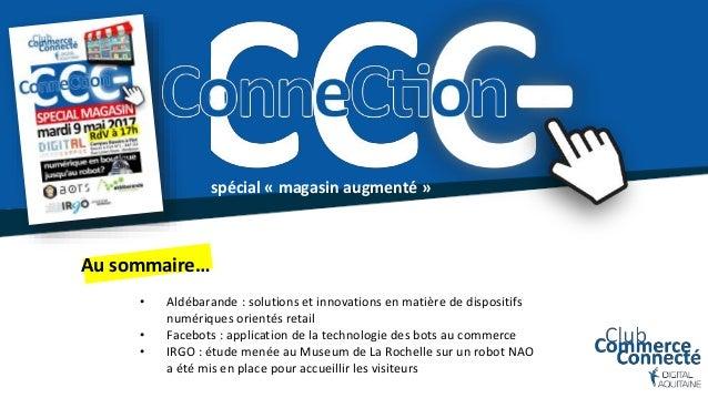 spécial « magasin augmenté » • Aldébarande : solutions et innovations en matière de dispositifs numériques orientés retail...