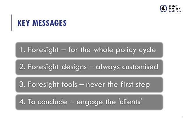 Foresight Methods and Practice: Lessons Learned from International Foresight Exercises  Slide 2