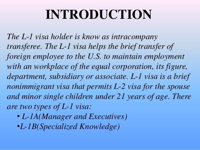 L1 Visa Extension Process USA - Visas Abroad
