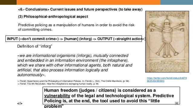 Social network, social profiling, predictive policing