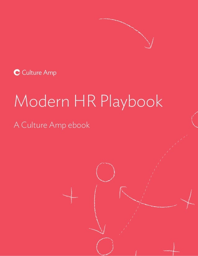 Modern HR Playbook A Culture Amp ebook