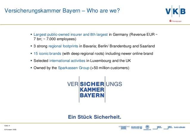 Europe Insurance Innovation Award 2017 - VK Bayern