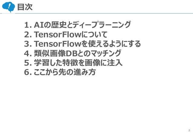 AI入門「第1回:AIの歴史とTensorFlow」 Slide 3