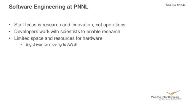 Technology Management Image: How Pacific Northwest National Laboratory Uses AWS To