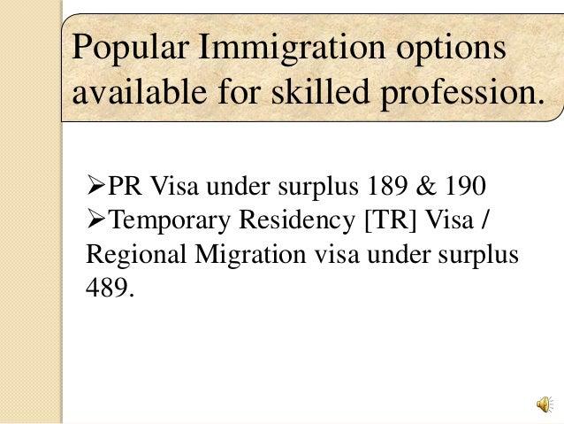 AUSTRALIA IMMIGRATION- DIFFERENT TYPES OF VISAS & BENEFITS
