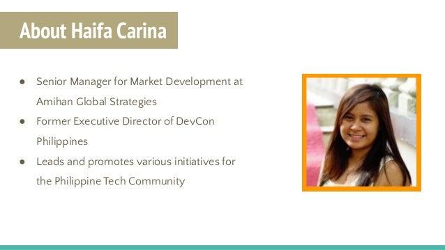 Sponsorship Tips and Tricks by Haifa Carina | PH Tech Community Leads Meetup Jun 2017 Slide 2