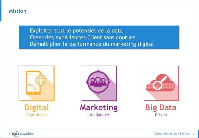 © 5 Exploiter tout le potentiel de la data Créer des expériences Client sans couture Démultiplier la performance du market...