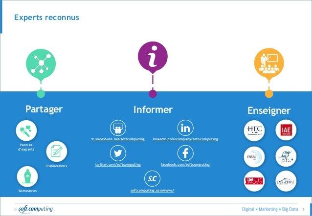 © 9 Experts reconnus Partager Informer Enseigner fr.slideshare.net/softcomputing linkedin.com/company/soft-computing twitt...