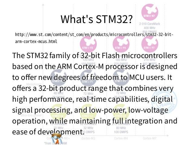 What's STM32?What's STM32?What's STM32?What's STM32?What's STM32? http://www.st.com/content/st_com/en/products/microcontro...
