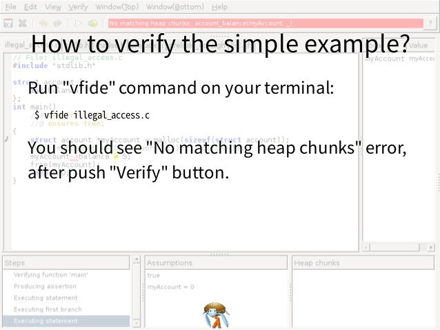 How to verify the simple example?How to verify the simple example?How to verify the simple example?How to verify the simpl...
