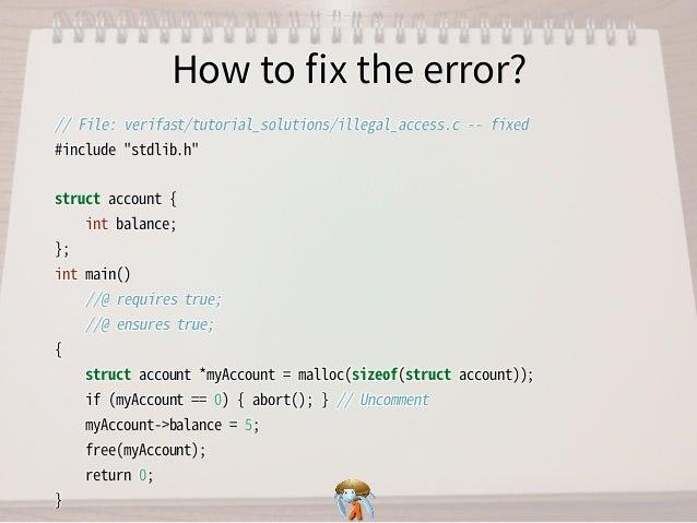 How to fix the error?How to fix the error?How to fix the error?How to fix the error?How to fix the error? //�File:�verifast/tut...