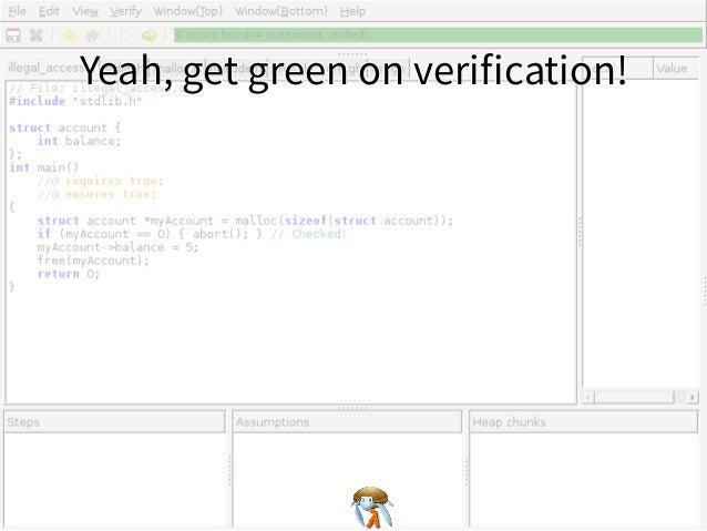 Yeah, get green on verification!Yeah, get green on verification!Yeah, get green on verification!Yeah, get green on verificatio...