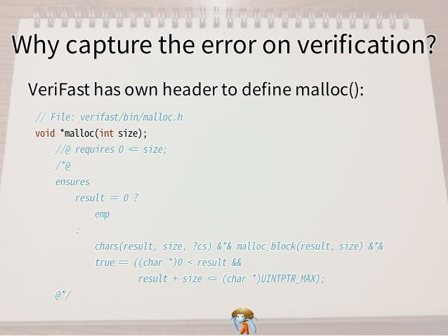 Why capture the error on verification?Why capture the error on verification?Why capture the error on verification?Why capture...