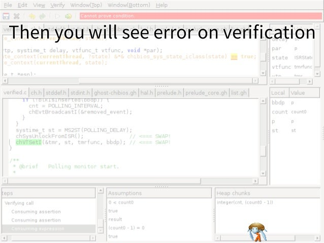 Then you will see error on verificationThen you will see error on verificationThen you will see error on verificationThen you...