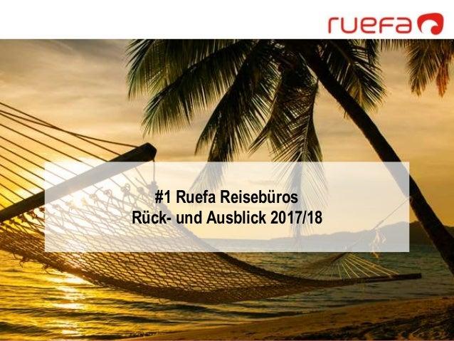 Ruefa Reisetrends der kommenden Saison 2017/18 Slide 2