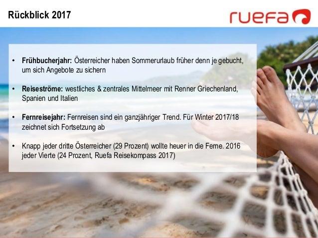 Ruefa Reisetrends der kommenden Saison 2017/18 Slide 3