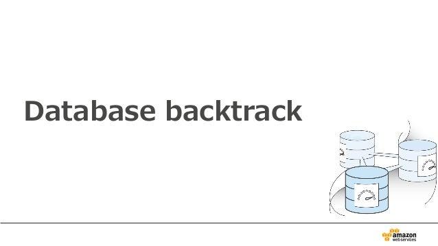 Database backtrack