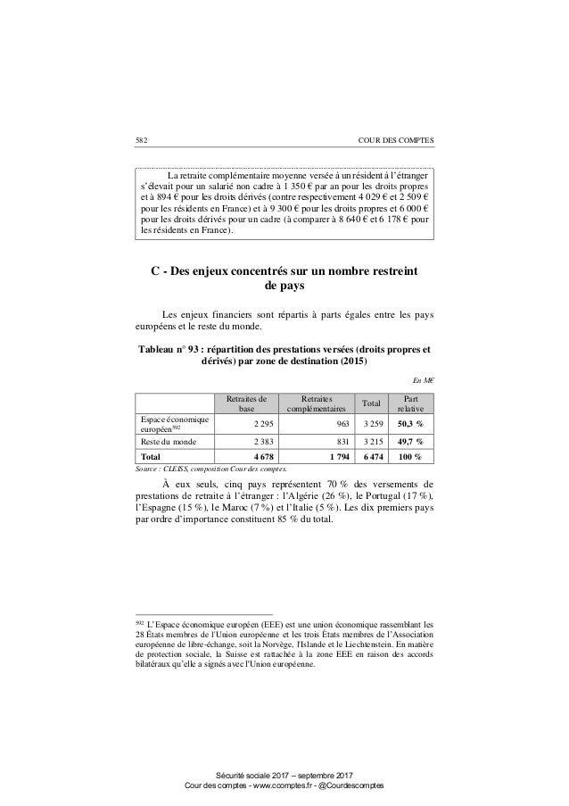 Nombre De Retraites En France En 2017