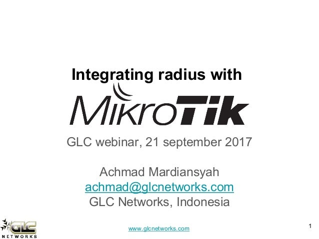 Mikrotik Pptp Radius Authentication