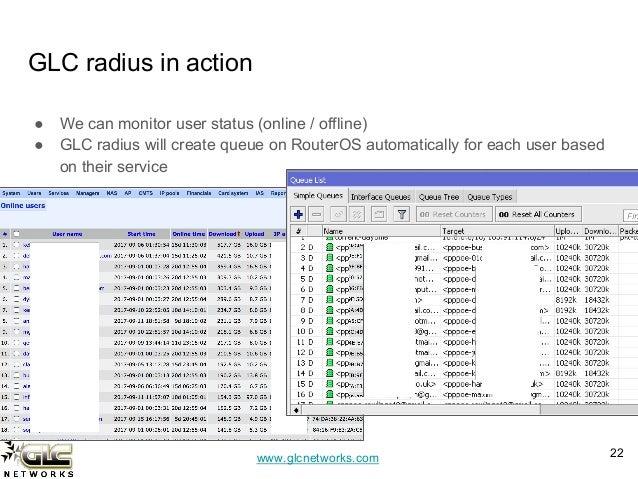 Integrating radius with mikrotik