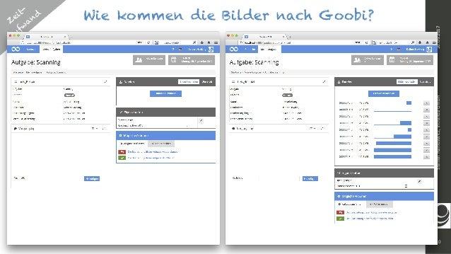10 SteffenHankiewicz,intrandaGmbH26.09.2017 Wie kommen die Bilder nach Goobi?Z eit- aufw and 1