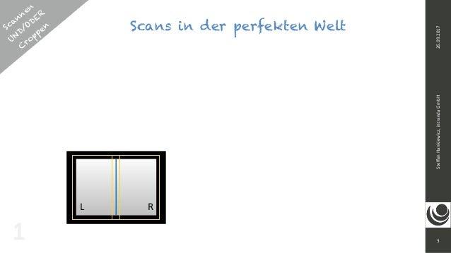 3 SteffenHankiewicz,intrandaGmbH26.09.2017 Scans in der perfekten WeltScannen UND/ODER  C roppen 1 L R
