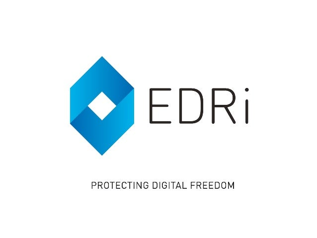 European Digital Rights https://edri.org/diego/ twitter @DNBSevilla Diego Naranjo Senior Policy Advisor Rage Against the C...