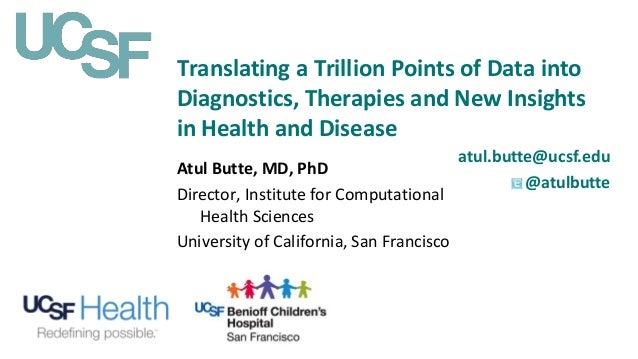 Atul Butte's presentation for the FDA 5th Annual Scientific