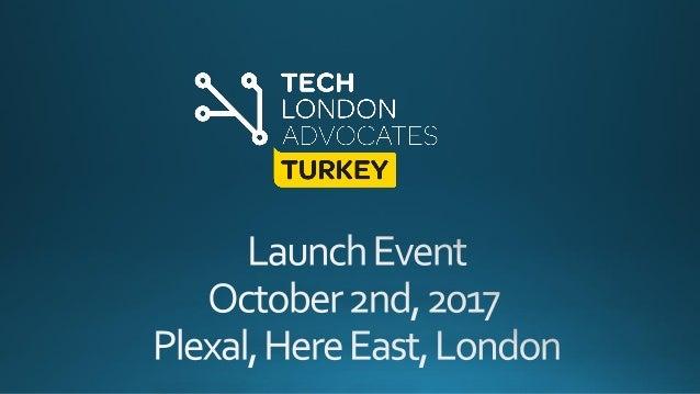 July 2016 London Turkish StartupTour