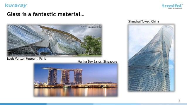 Adding Additional Properties to High Performance Glass through Interlayers Slide 2
