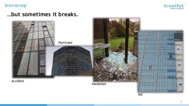 Adding Additional Properties to High Performance Glass through Interlayers Slide 3