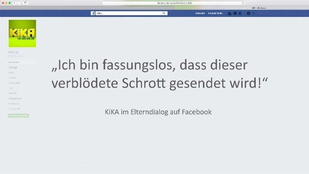 KiKA im Elterndialog auf Facebook #AFBMC