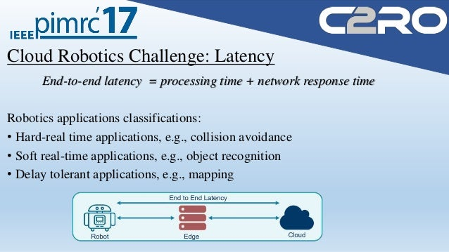 Real-Time Cloud Robotics in Practical Smart City Applications