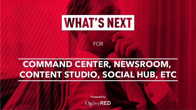 FOR Powered by COMMAND CENTER, NEWSROOM, CONTENT STUDIO, SOCIAL HUB, ETC