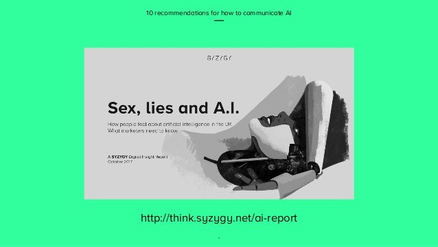 How to communicate Artificial Intelligence to clients and consumers Slide 3