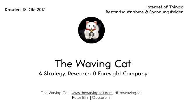 The Waving Cat | www.thewavingcat.com | @thewavingcat Peter Bihr | @peterbihr The Waving Cat A Strategy, Research & Foresi...