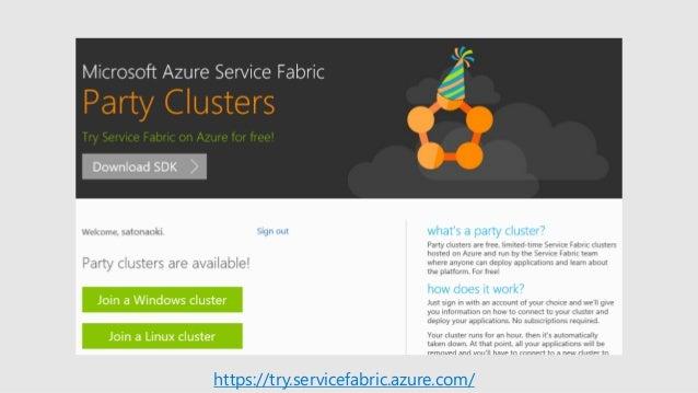 [Microsoft Tech Summit 2017] マイクロサービスだけじゃない! コンテナー オーケストレーターとしての「Azure Service Fabric」