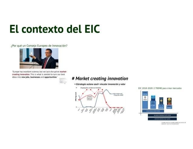 20171116 El instrumento pyme en el marco del EIC 2018-20 Slide 2