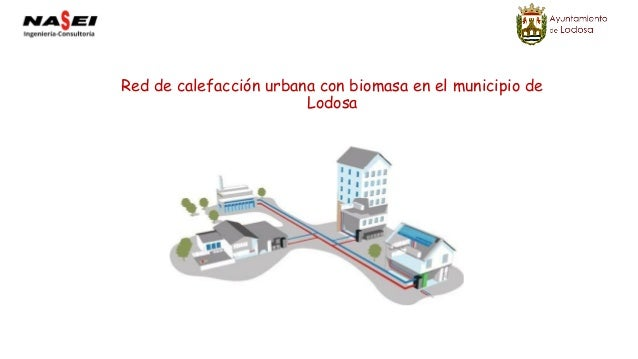 Red de calefacción urbana con biomasa en el municipio de Lodosa