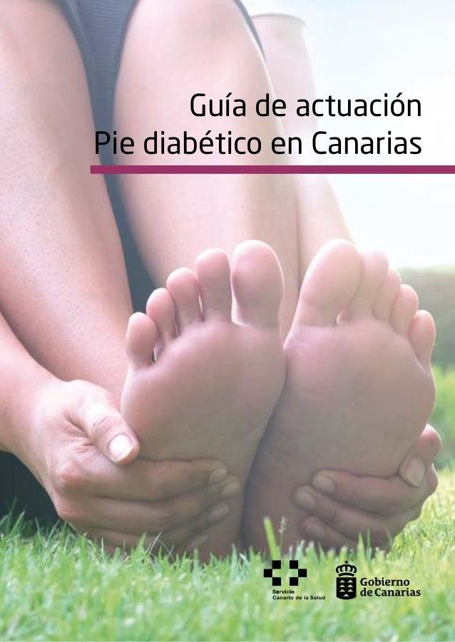 Guía de actuación Pie diabético en Canarias