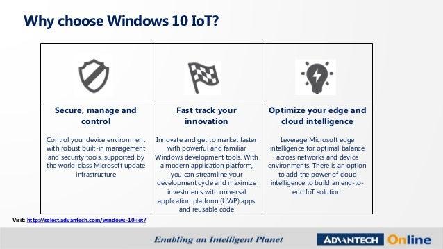 Windows 10 IoT Buyer's Guide