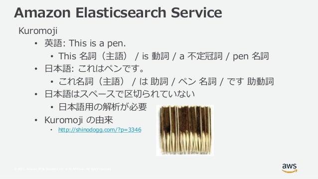 Amazon Elasticsearch Service Features