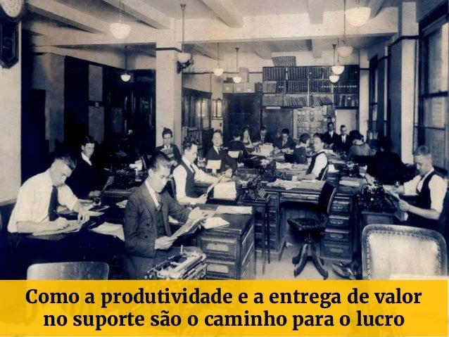 Como a produtividade e a entrega de valor no suporte são o caminho para o lucro