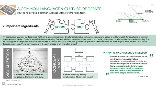 38 VISUALIZATION A COMMON LANGUAGE & CULTURE OF DEBATE Throughout our analysis, we discovered that having a specific room ...