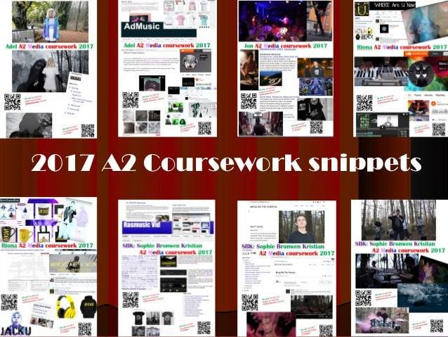 2017 A2 Coursework snippets