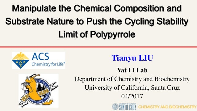 Manipulate the Chemical Composition and Substrate Nature to Push the Cycling Stability Limit of Polypyrrole Tianyu LIU Yat...