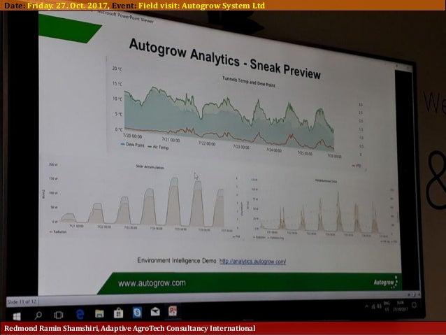 Adaptive AgroTech Report 2017: visiting AutoGrow Intelligent