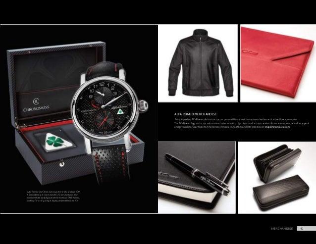 Alfa Romeo Giulia Brochure - Alfa romeo merchandise